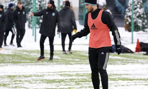 Первая тренировка фк «Ахмат» в новом 2021 году