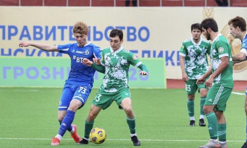 Матч Ахмат 2:1 Динамо (молодежный состав)