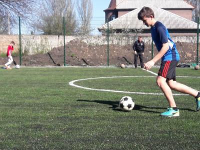 Тренировка воспитанников с.Илсхан-юрт